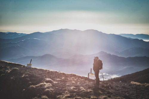 息切れしない山登りは人生のように
